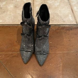 Brand New Pewter Inc International Concepts bootie